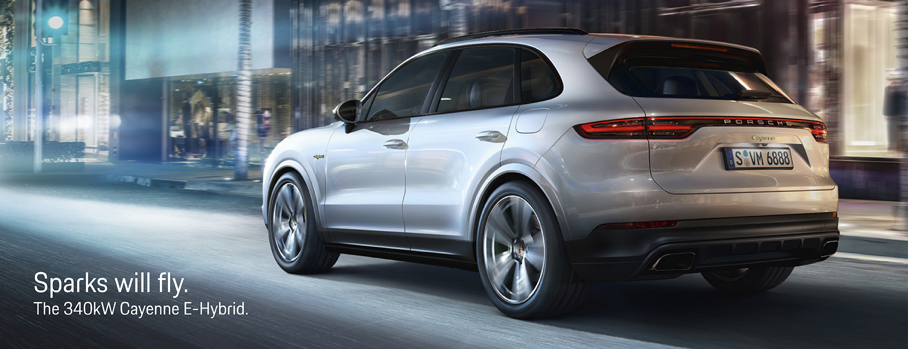 New Cayenne now available as a plug-in hybrid.